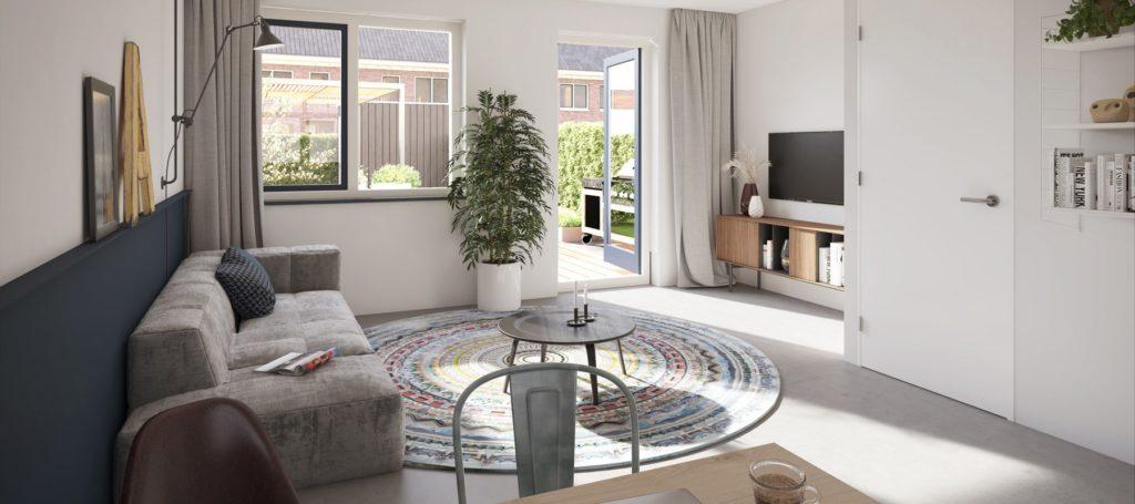 Nieuw Altere interieur - Van Vliet Installatie - Alle woningen in het eerste deelplan kenmerken zich door een luxe en klassieke architectuur.